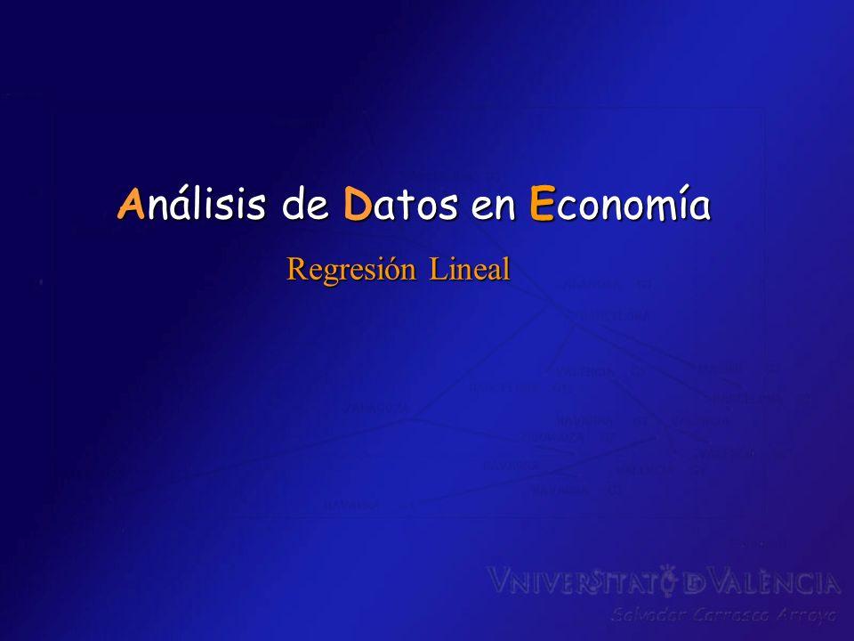 Análisis de Datos en Economía