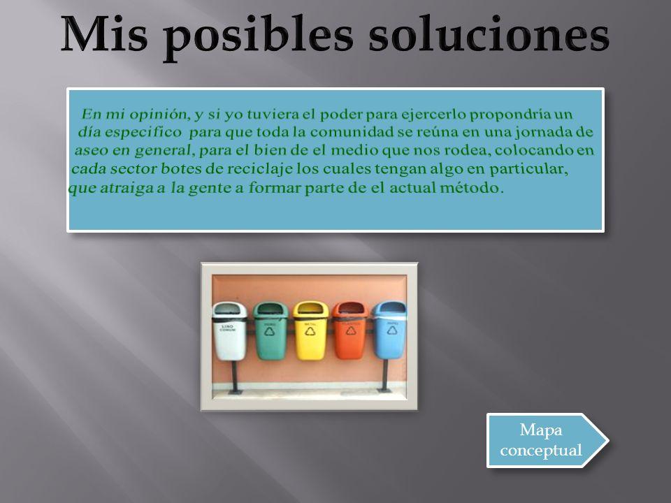 Mis posibles soluciones