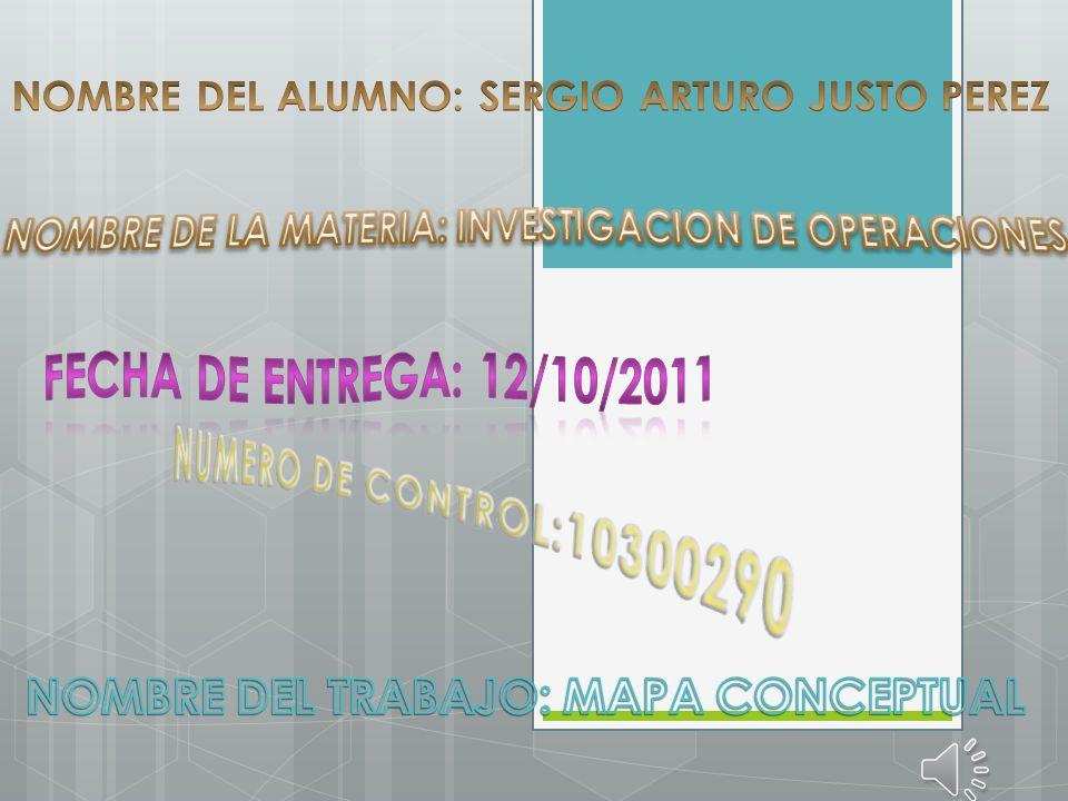 NUMERO DE CONTROL:10300290 NOMBRE DEL TRABAJO: MAPA CONCEPTUAL