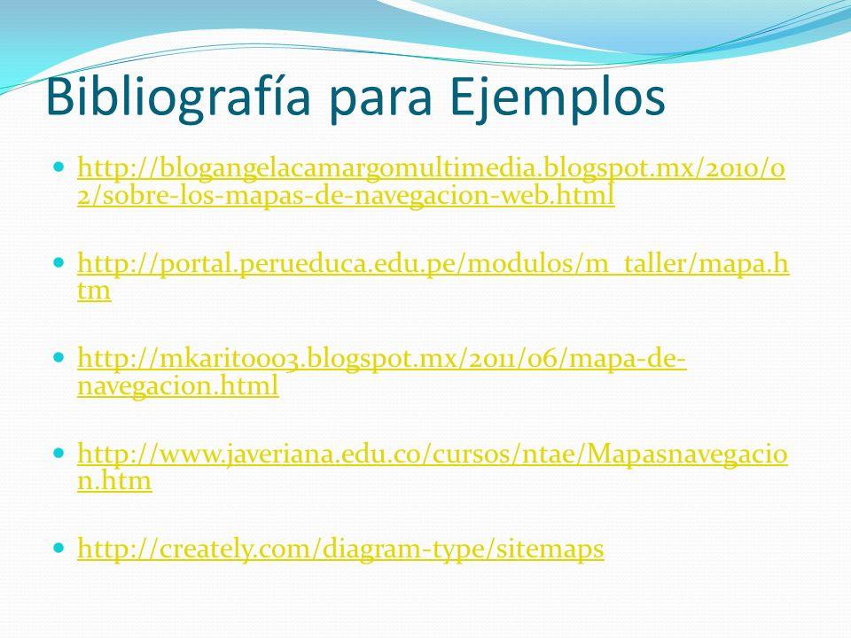 Bibliografía para Ejemplos