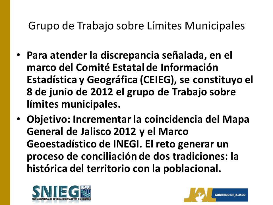 Grupo de Trabajo sobre Límites Municipales