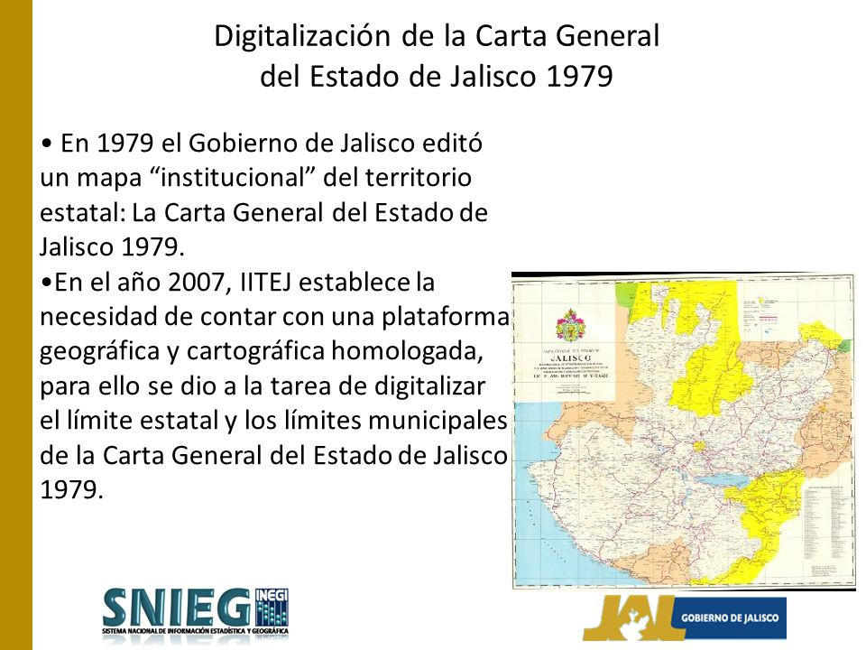 Digitalización de la Carta General