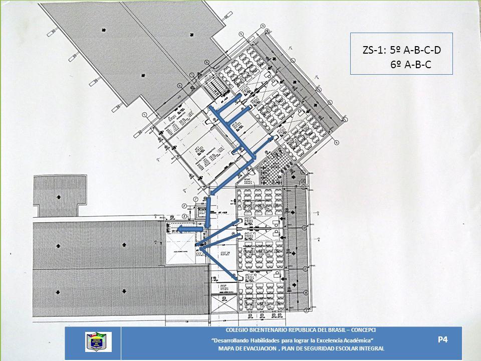 ZS-1: 5º A-B-C-D 6º A-B-C. COLEGIO BICENTENARIO REPUBLICA DEL BRASIL – CONCEPCIO. Desarrollando Habilidades para lograr la Excelencia Académica