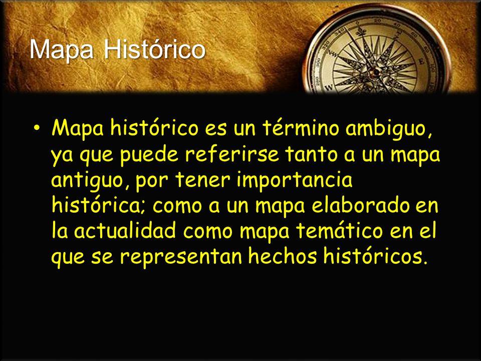 Mapa Histórico
