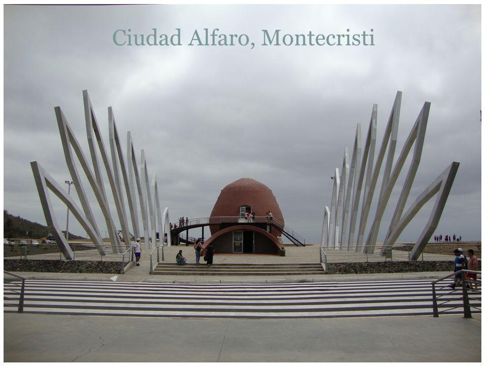 Ciudad Alfaro, Montecristi
