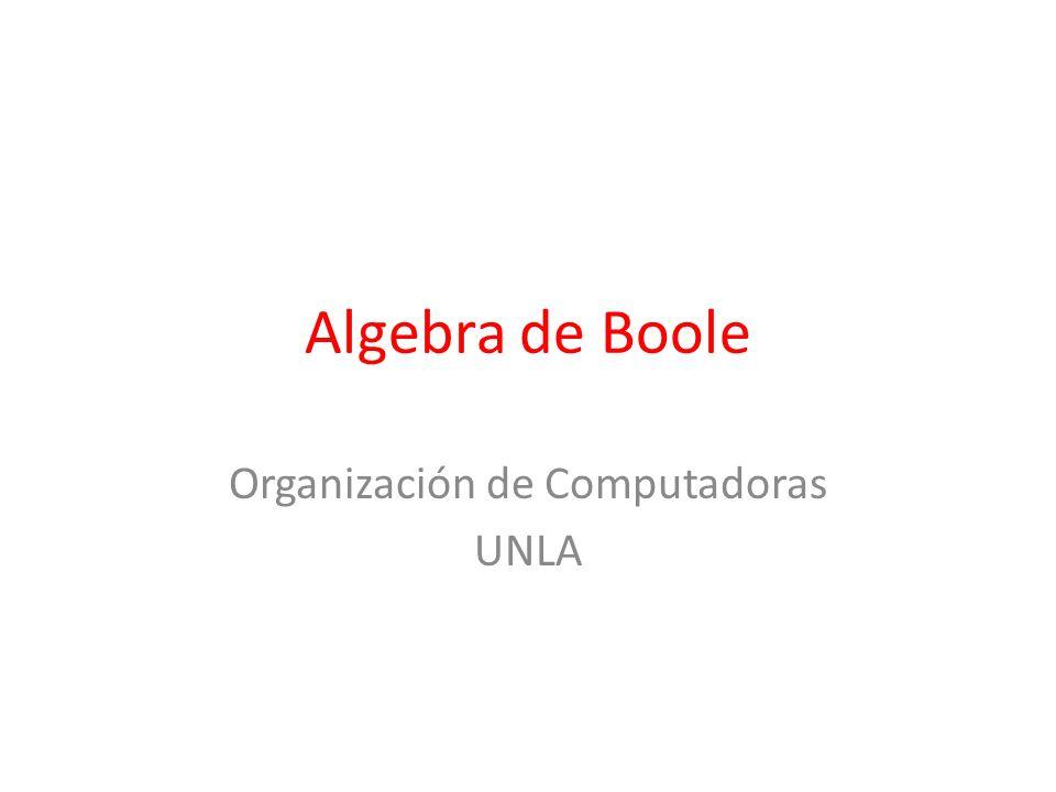 Organización de Computadoras UNLA