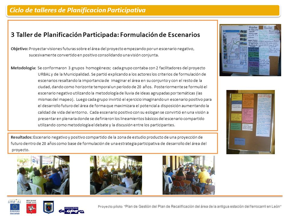 Ciclo de talleres de Planificacion Participativa