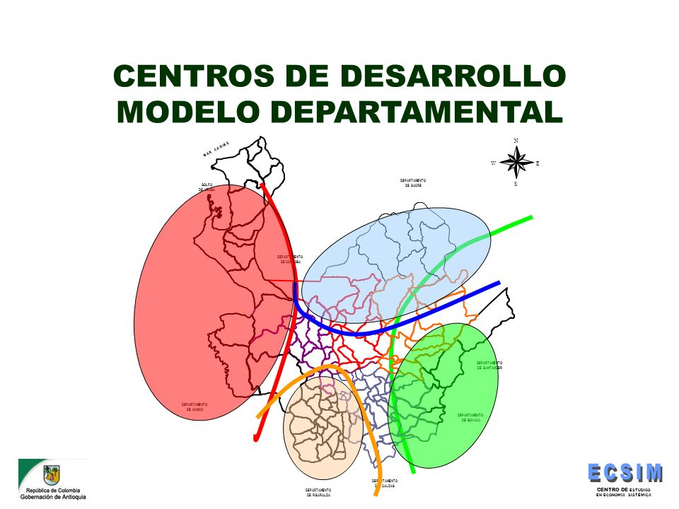 CENTROS DE DESARROLLO MODELO DEPARTAMENTAL