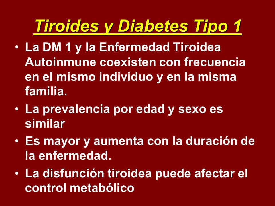 Tiroides y Diabetes Tipo 1