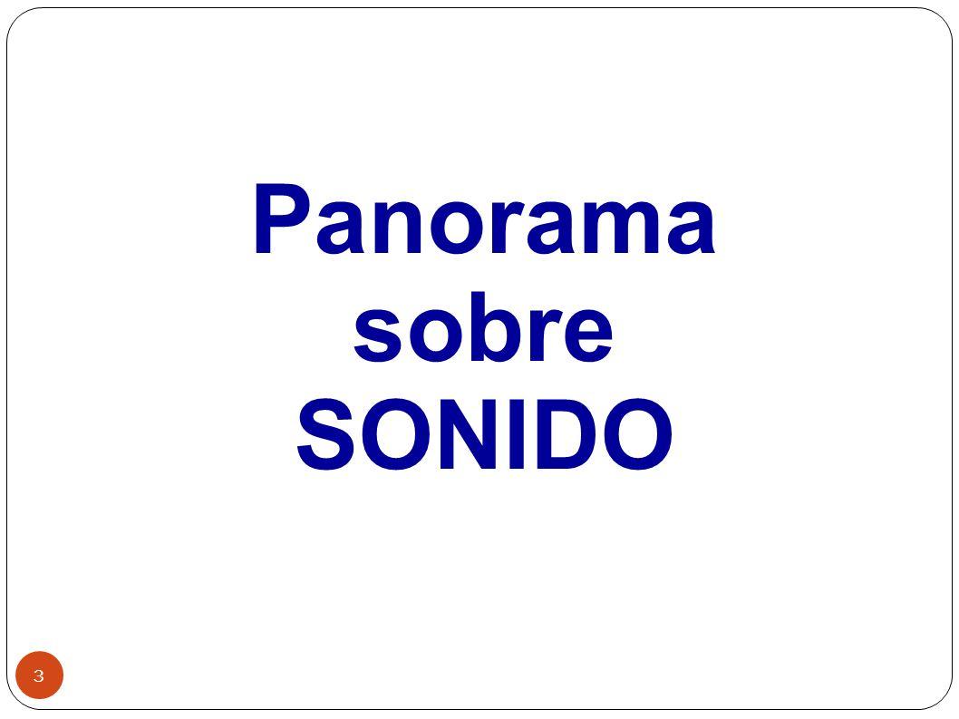 Panorama sobre SONIDO