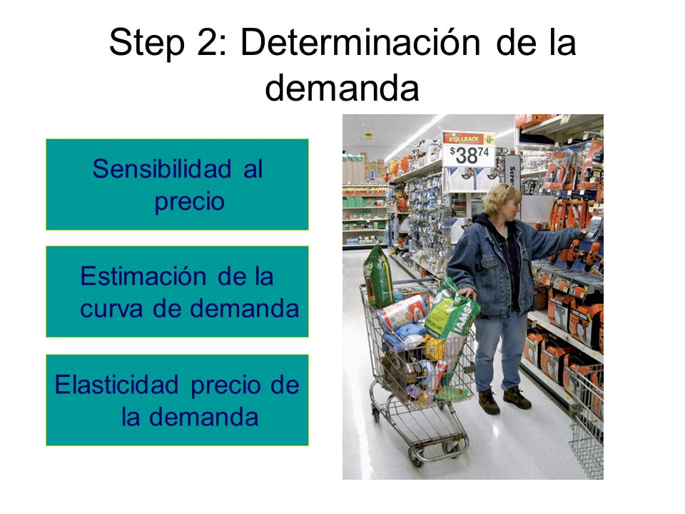 Step 2: Determinación de la demanda