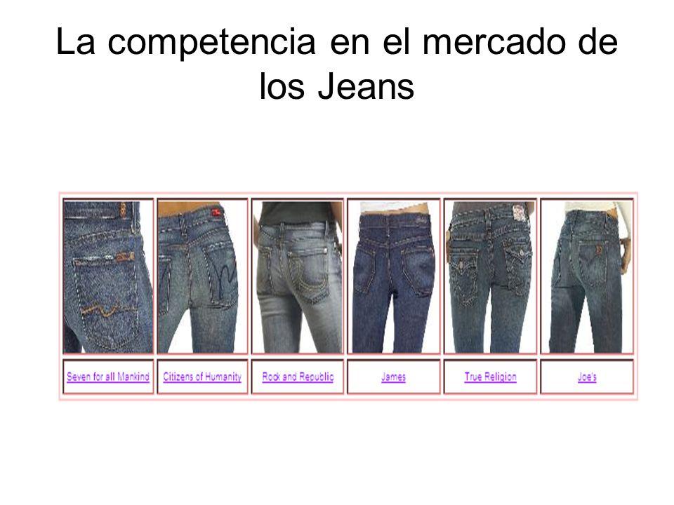 La competencia en el mercado de los Jeans
