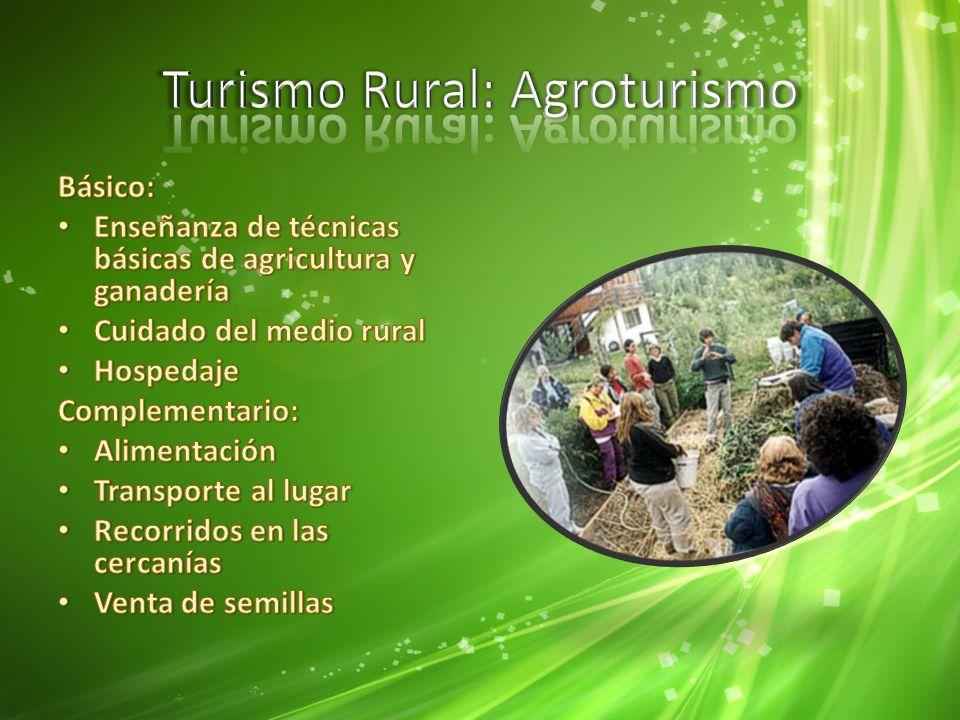 Turismo Rural: Agroturismo