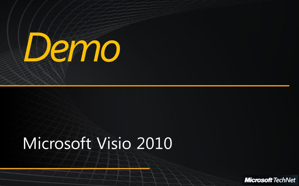 Microsoft SharePoint Conference 2009 Microsoft Visio 2010