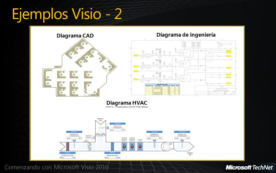 Ejemplos Visio - 2 Diagrama CAD Diagrama de ingeniería Diagrama HVAC