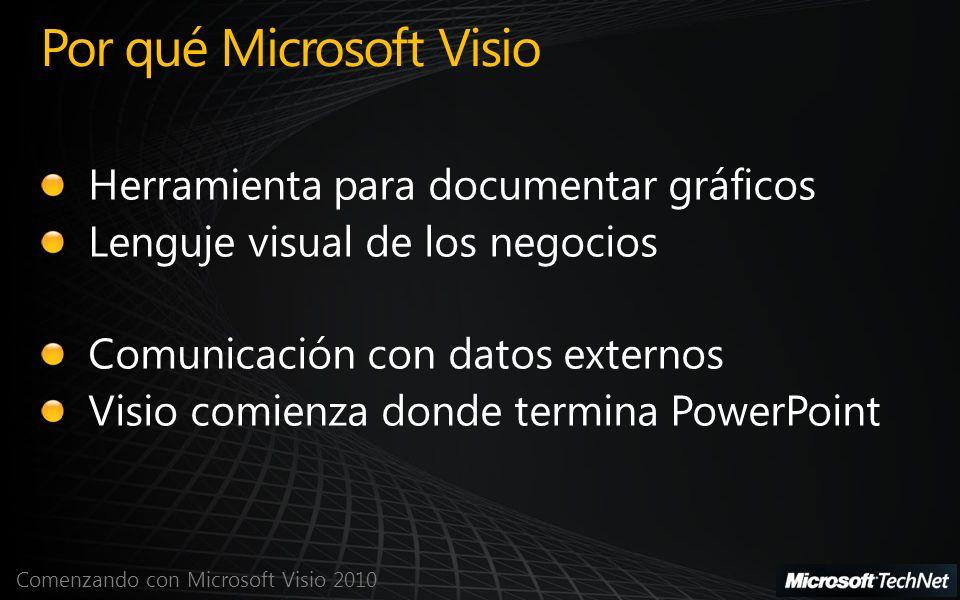 Por qué Microsoft Visio