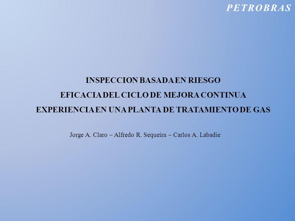 PETROBRAS INSPECCION BASADA EN RIESGO