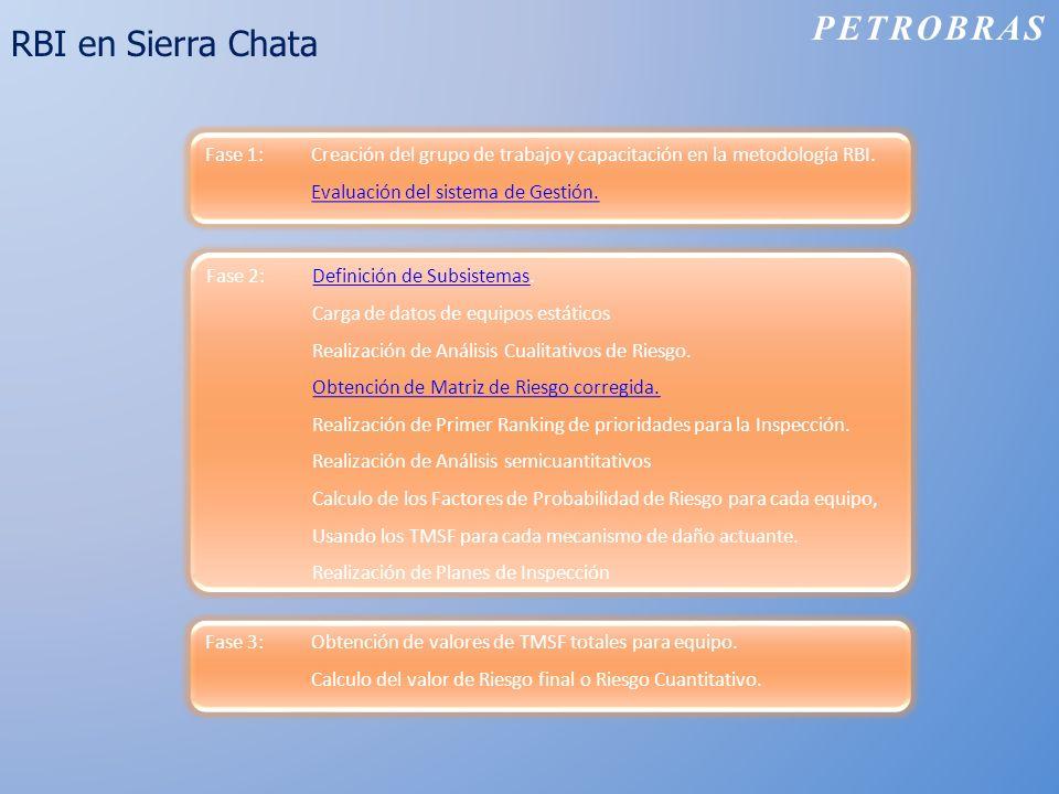 PETROBRAS RBI en Sierra Chata