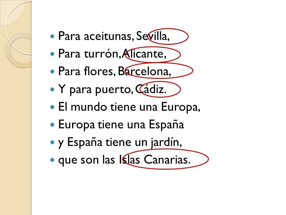 Para aceitunas, Sevilla,
