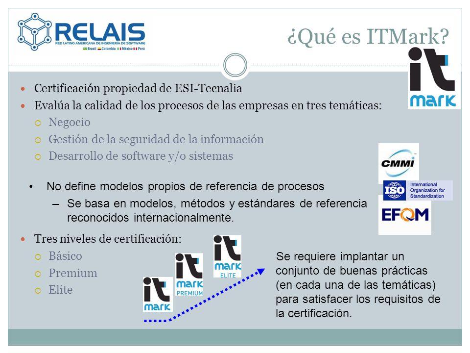 ¿Qué es ITMark Certificación propiedad de ESI-Tecnalia
