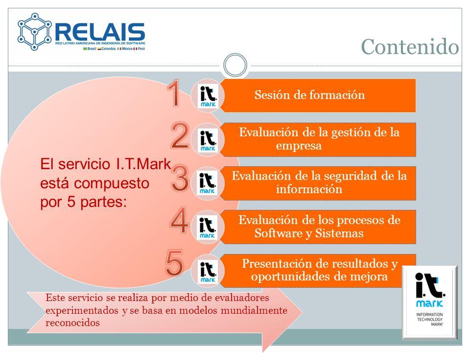 1 2 3 4 5 Contenido El servicio I.T.Mark está compuesto por 5 partes: