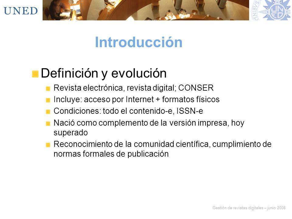 Introducción Definición y evolución