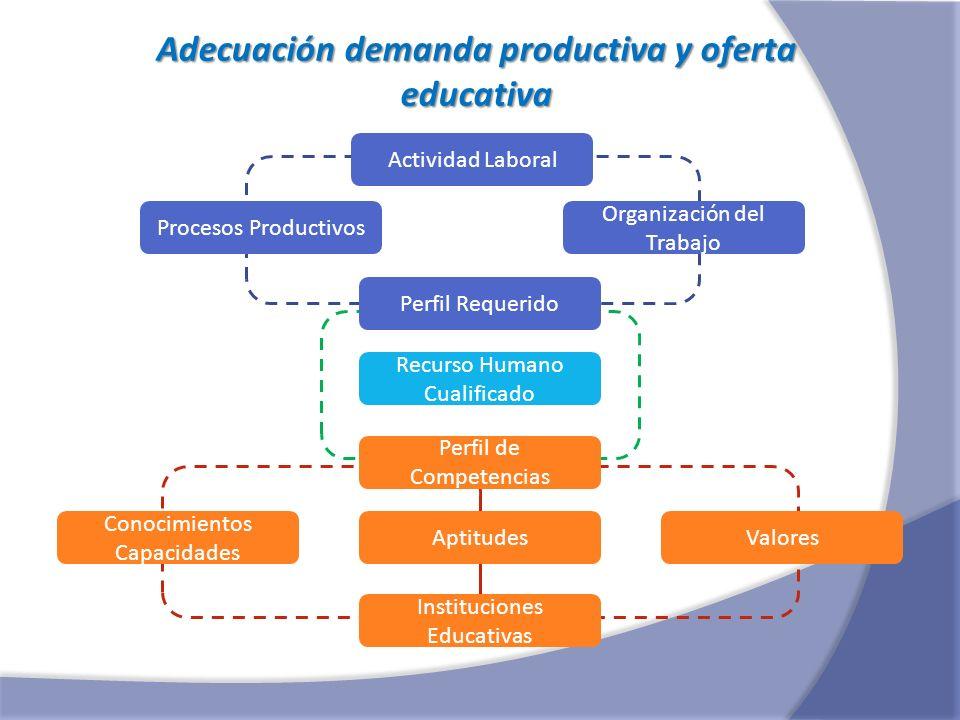 Adecuación demanda productiva y oferta educativa