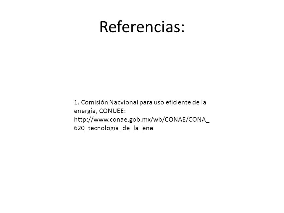 Referencias: 1.
