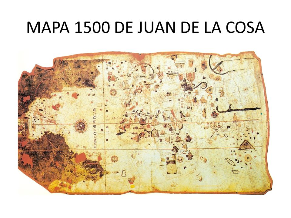 MAPA 1500 DE JUAN DE LA COSA
