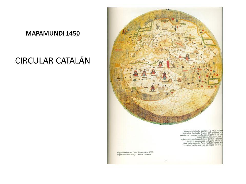 MAPAMUNDI 1450 CIRCULAR CATALÁN
