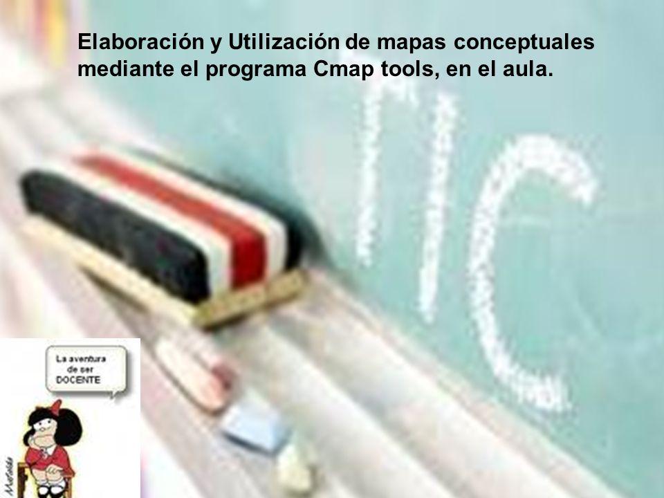 Elaboración y Utilización de mapas conceptuales