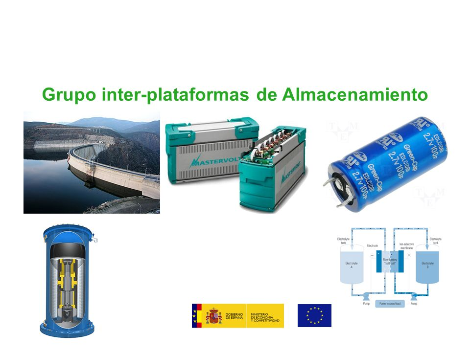 Grupo inter-plataformas de Almacenamiento