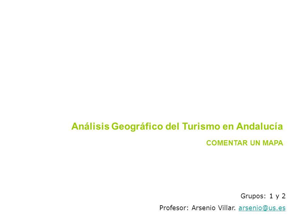 Análisis Geográfico del Turismo en Andalucía