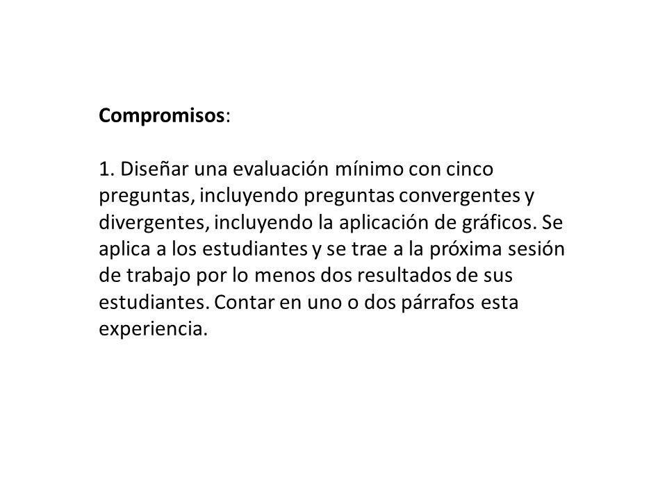 Compromisos: