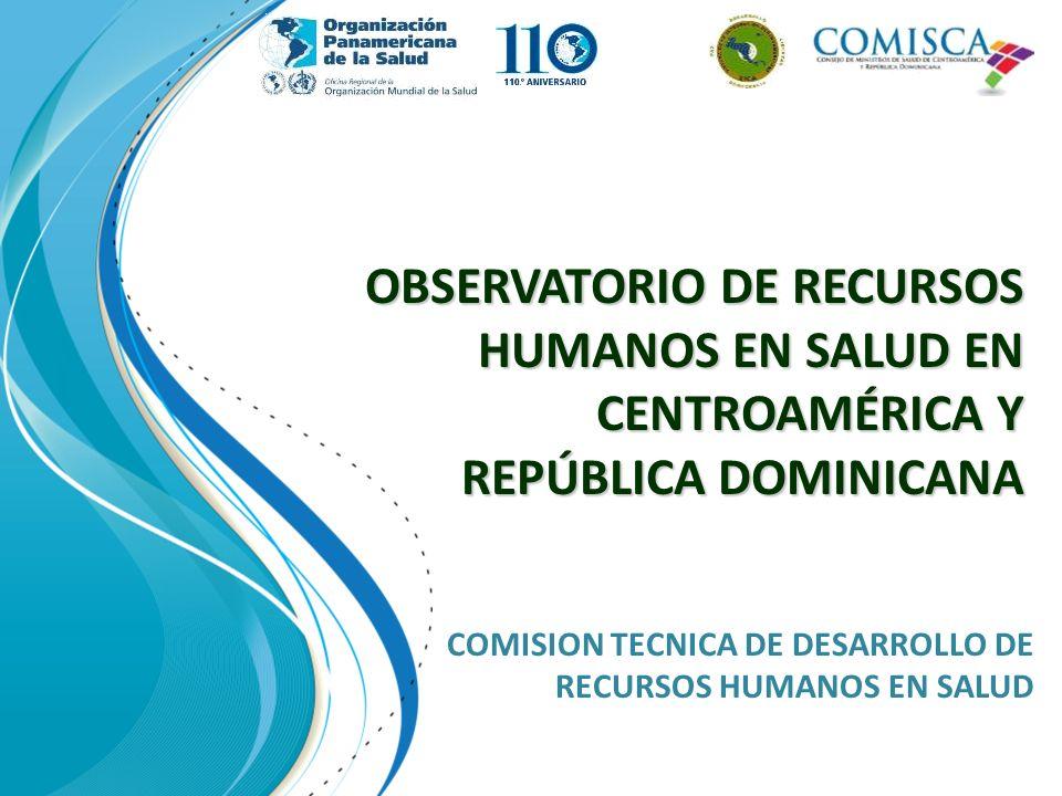 COMISION TECNICA DE DESARROLLO DE RECURSOS HUMANOS EN SALUD