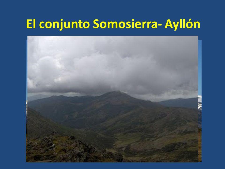El conjunto Somosierra- Ayllón