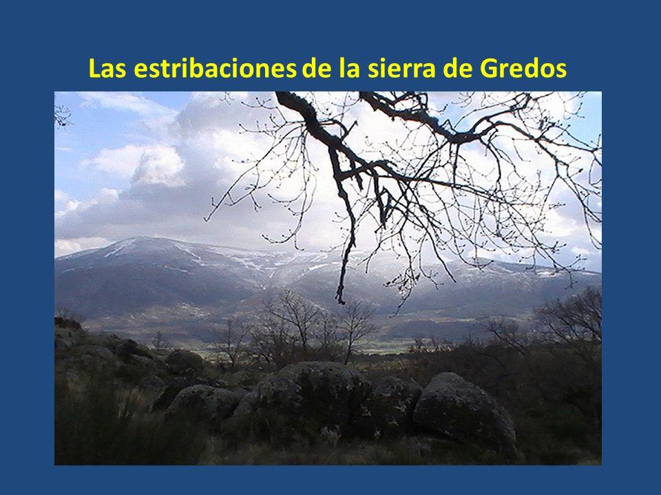 Las estribaciones de la sierra de Gredos