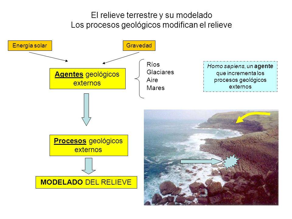El relieve terrestre y su modelado Los procesos geológicos modifican el relieve