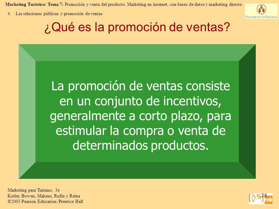 ¿Qué es la promoción de ventas