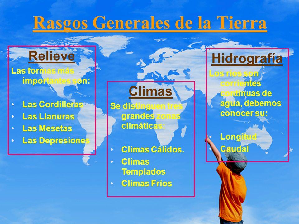 Rasgos Generales de la Tierra