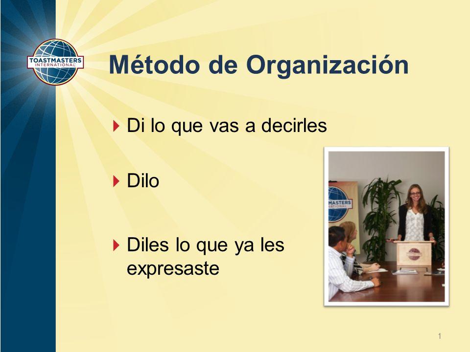 Método de Organización
