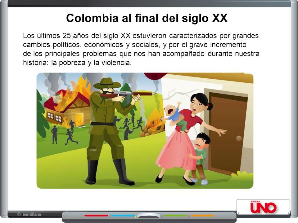 Colombia al final del siglo XX