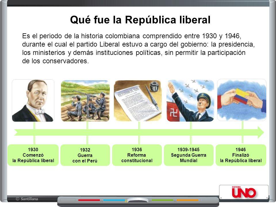 Qué fue la República liberal