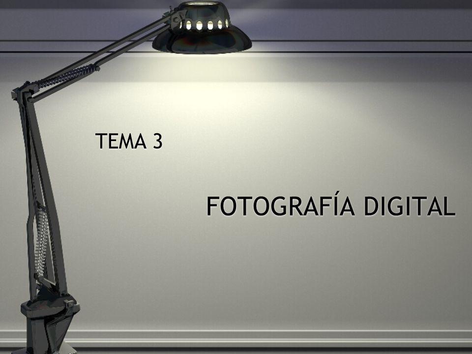 TEMA 3 FOTOGRAFÍA DIGITAL