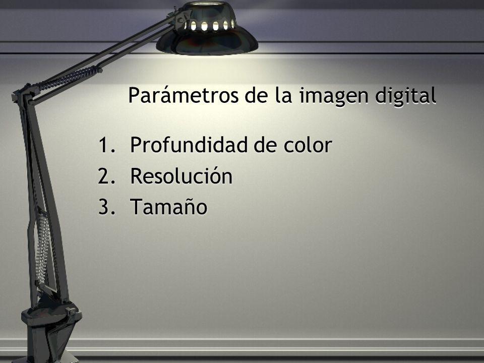 Parámetros de la imagen digital