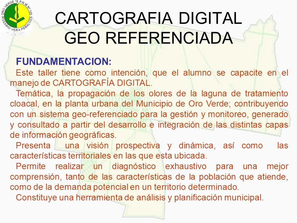CARTOGRAFIA DIGITAL GEO REFERENCIADA