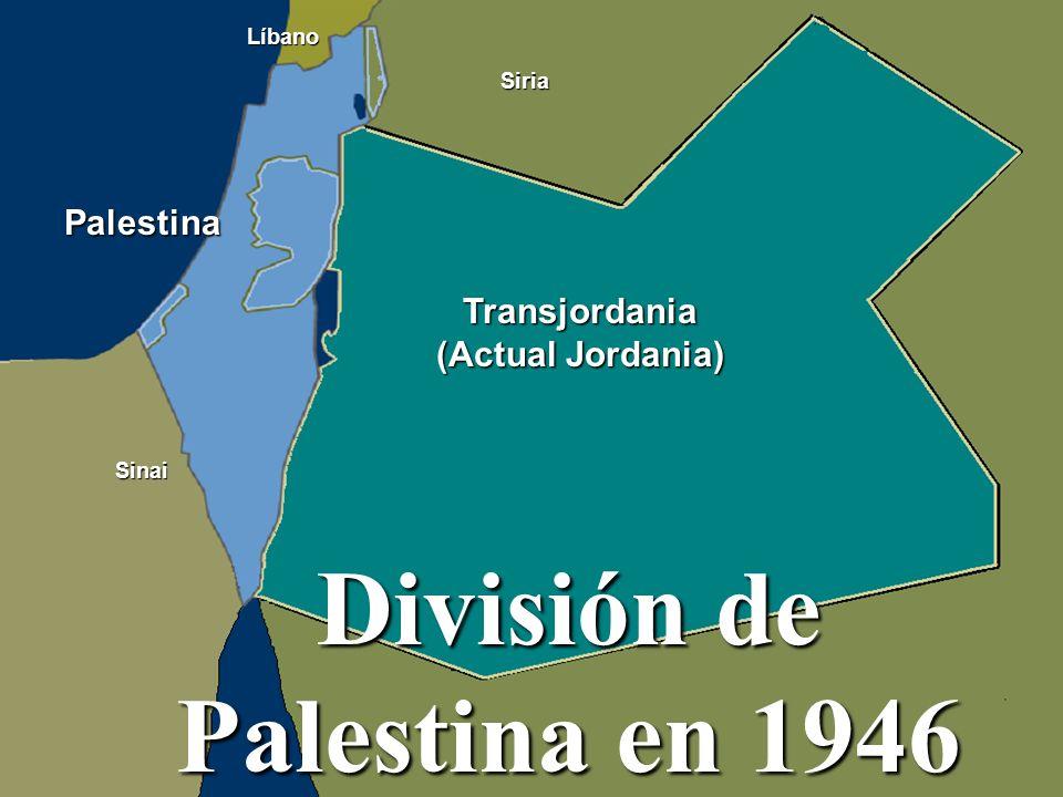 División de Palestina en 1946