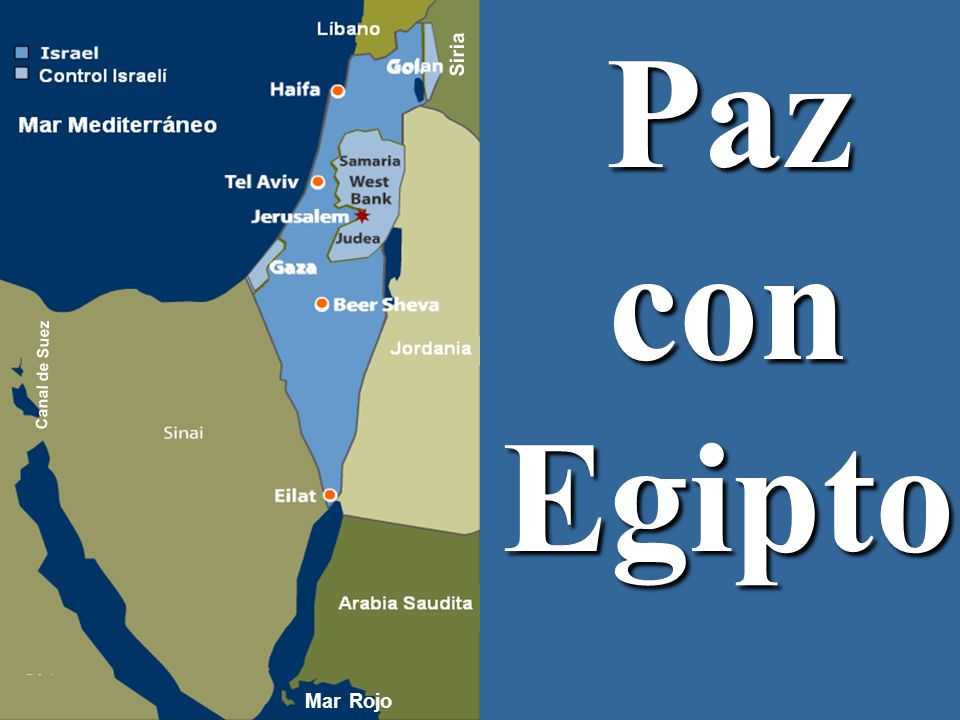 Siria Paz con Egipto Canal de Suez Mar Rojo