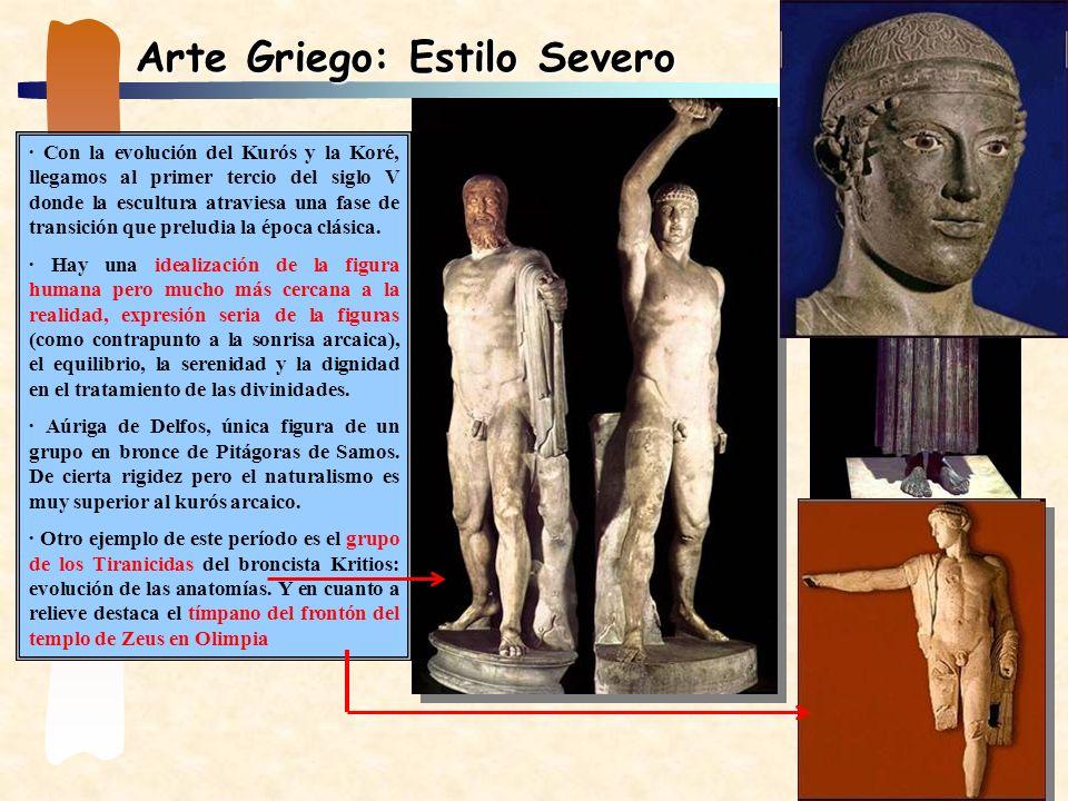 Arte Griego: Estilo Severo