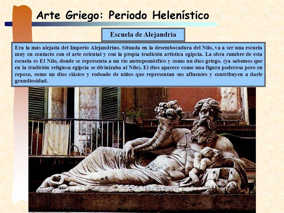 Arte Griego: Periodo Helenístico